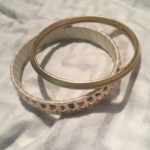 Jewelry - Bangle Bracelet Lot Studded Woven Modern Boho Chic